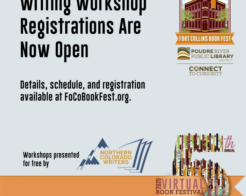 Registration for Writing Workshops is now open