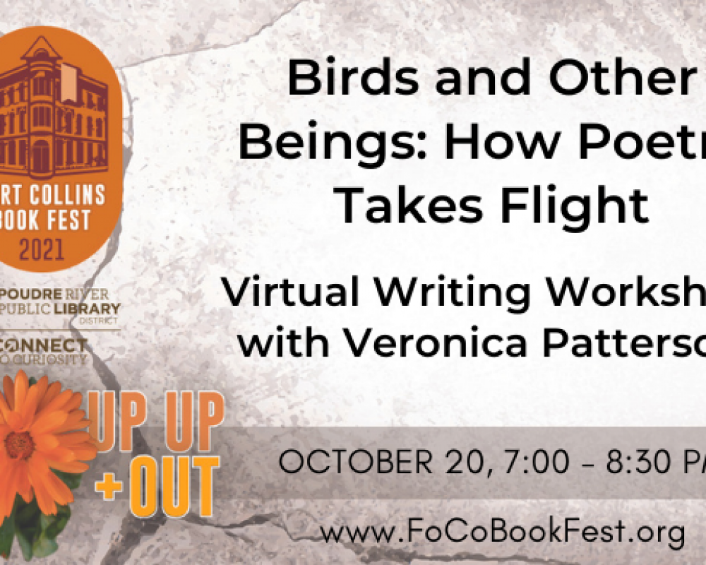 Writing Workshop: Birds and Other Beings: How Poetry Takes Flight
