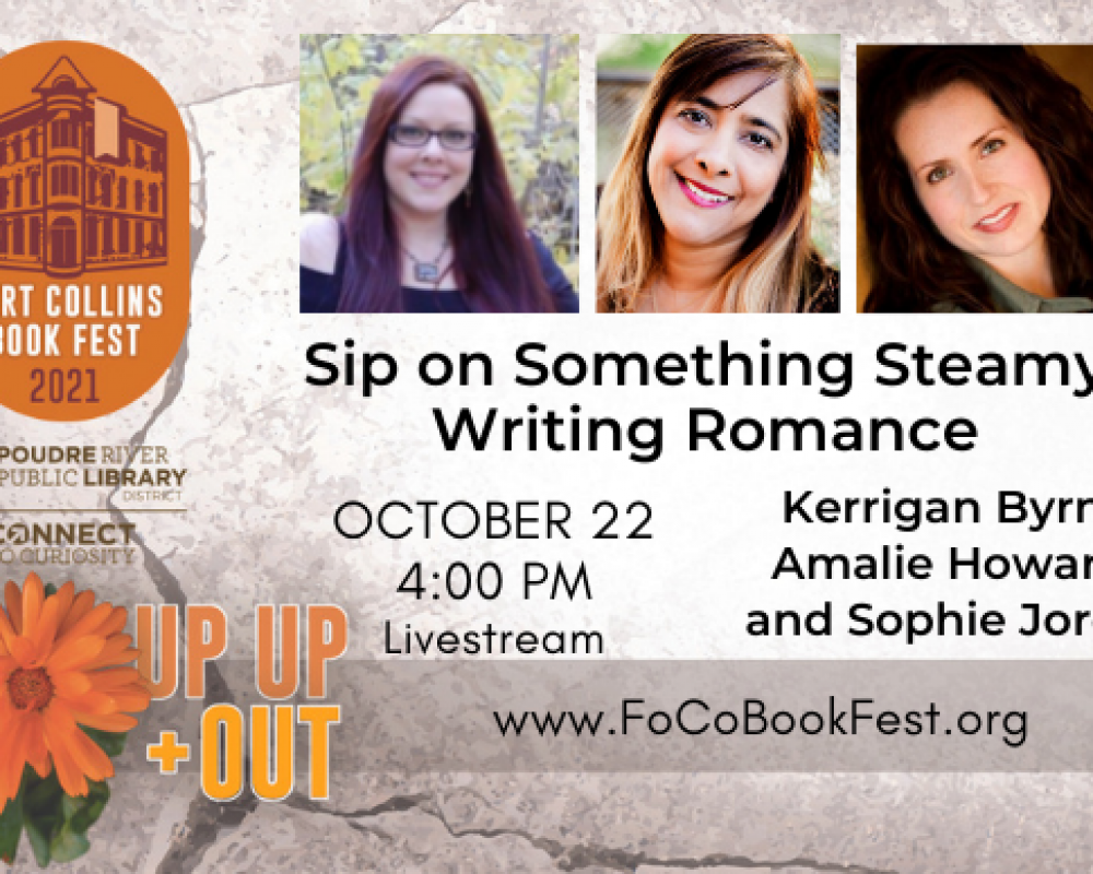 Sip on Something Steamy: Writing Romance Panel Discussion